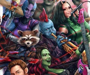 mantis, Marvel, and rocket image