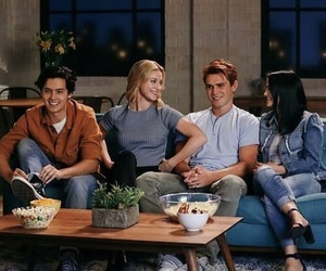 riverdale, lili reinhart, and cole sprouse image