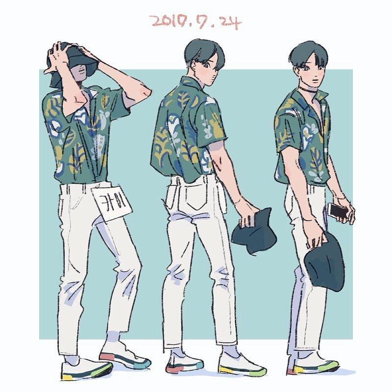 exo, fanart, and jongin image
