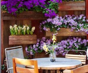 flowers, garden, and outdoor living image