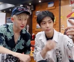 lq, wonho, and hyungwon image