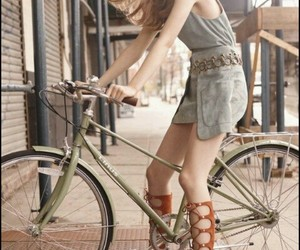 bicycle, fashion, and grey image