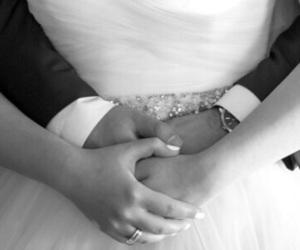 heart, love, and wedding image