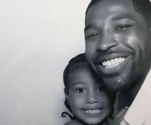 family, tristan thompson, and nori west image