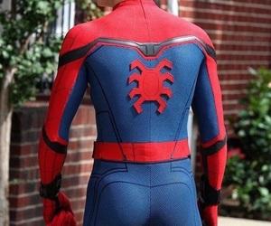 ass, spiderman, and superhero image