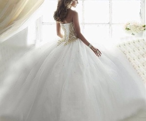 ballgown, fairytale, and fashion image