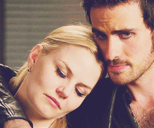 once upon a time, hook, and Jennifer Morrison image