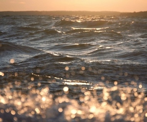 light and sea image