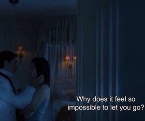 love, quotes, and impossible image