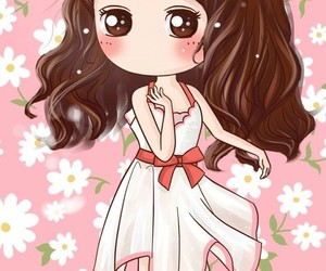 cartoon, girl, and wallpapers image