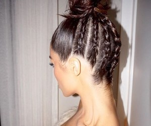 hair style, hair, and lovely locks image