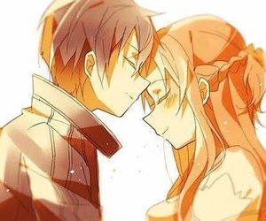 couples, anime couples, and sword art online image