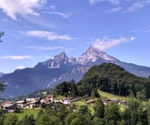 mountain, berchtesgaden, and watzmann image