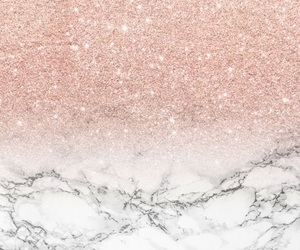 glitter, marble, and pink image