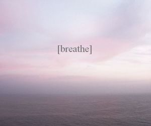 breathe, relax, and quote image