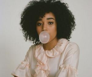 amandla stenberg and curly hair image