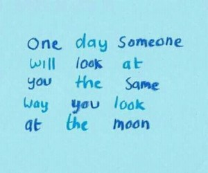 moon, quotes, and love image