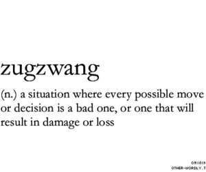 words, zugzwang, and meaning image