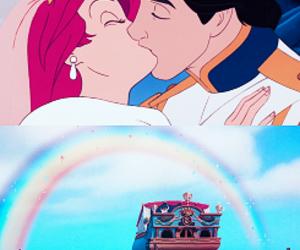 ariel, disney, and la petite sirene image