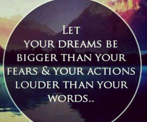 Dream, quotes, and words image