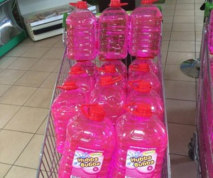 pink, shop, and water image