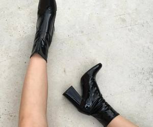 shoes, girl, and boots image