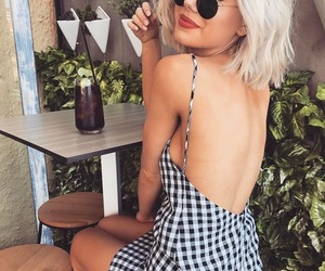 outfit, plaid, and laura jade stone image
