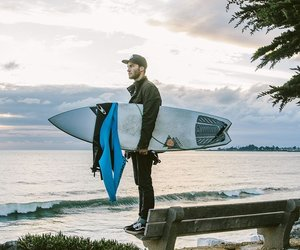 ocean, photography, and surfer image