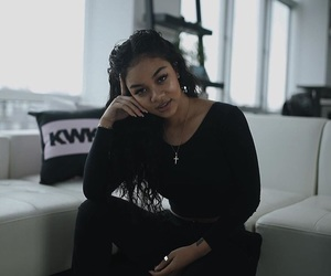 black, clothes, and pretty image