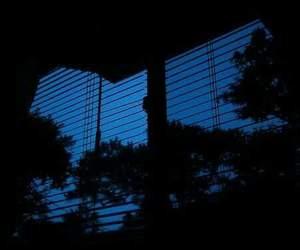 blue, dark, and grunge image