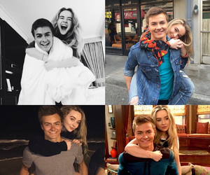 sabrina carpenter and peyton meyer image