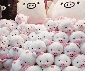 cute, pig, and kawaii image