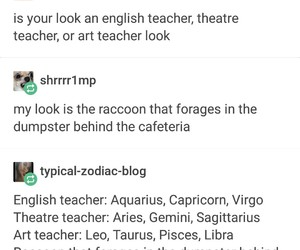 aesthetic, astrology, and funny image