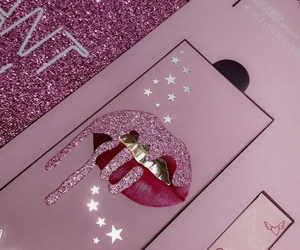 glitter, pink, and snapchat image