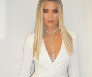 white and khloe kardashian image