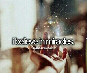 miracle, believe, and magic image