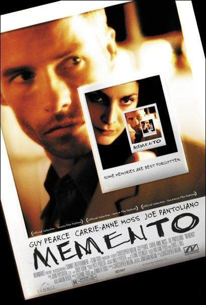 memento and movie image