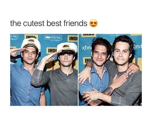 bromance, teen wolf, and o'brosey image