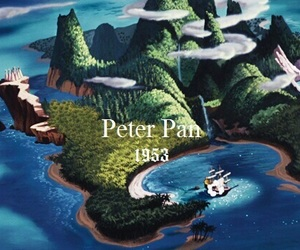 peter pan, disney, and theme image
