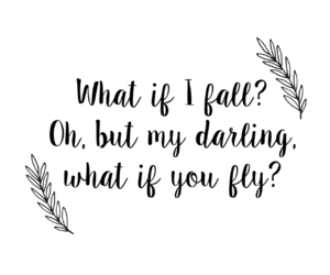 darling, fly, and quote image