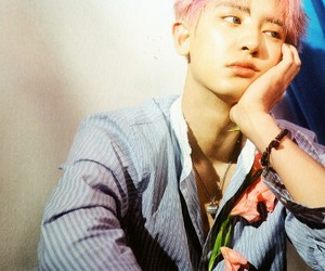 exo, chanyeol, and k-pop image
