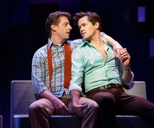 broadway, christian borle, and andrew rannells image