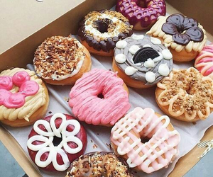 cool, delicious, and donuts image