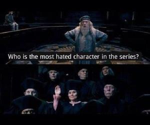harry potter, umbridge, and dumbledore image