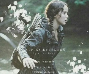 katniss, the hunger games, and katniss everdeen image