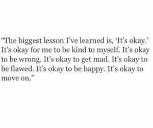 quote, happy, and okay image