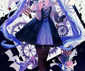 anime girl, fan art, and art image