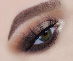 brown, makeup, and mua  image
