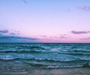 artsy, blue, and pink image