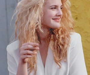 drew barrymore, hair, and 90s image